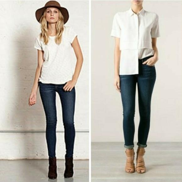 rag & bone Denim - Rag & Bone Skinny Wonderland denim skinny jeans 25
